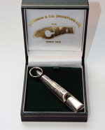 Sterling Silver Dog Whistle