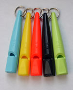 ACME Plastic dog whistles