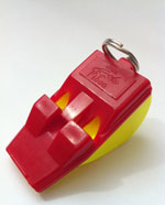 Supervisors safety whistle